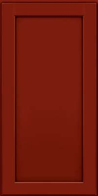 Square Recessed Panel - Veneer (AC9M) Maple in Cardinal w/Onyx Glaze - Wall