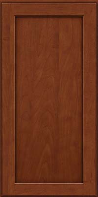 Square Recessed Panel - Veneer (AC9M) Maple in Chestnut w/Onyx Glaze - Wall
