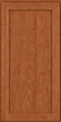 Square Recessed Panel - Veneer (AC9M) Maple in Cinnamon - Wall