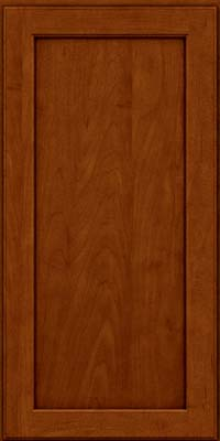 Square Recessed Panel - Veneer (AC9M) Maple in Cinnamon w/Onyx Glaze - Wall