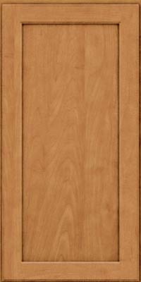 Square Recessed Panel - Veneer (AC9M) Maple in Ginger w/Sable Glaze - Wall