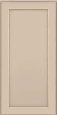 Square Recessed Panel - Veneer (AC9M) Maple in Mushroom w/ Cinder Glaze - Wall
