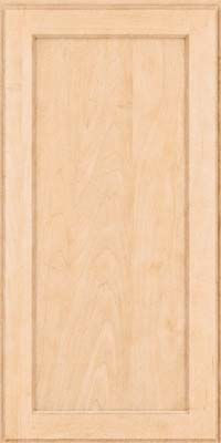 Square Recessed Panel - Veneer (AC9M) Maple in Natural - Wall