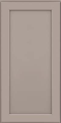 Square Recessed Panel - Veneer (AC9M) Maple in Pebble Grey - Wall