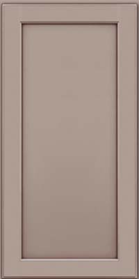 Square Recessed Panel - Veneer (AC9M) Maple in Pebble Grey w/ Cocoa Glaze - Wall