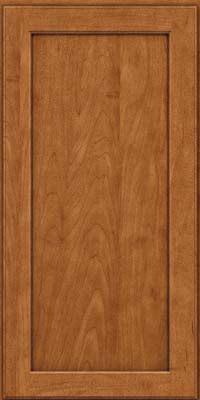 Square Recessed Panel - Veneer (AC9M) Maple in Praline w/Onyx Glaze - Wall