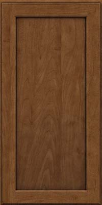 Square Recessed Panel - Veneer (AC9M) Maple in Rye w/Onyx Glaze - Wall