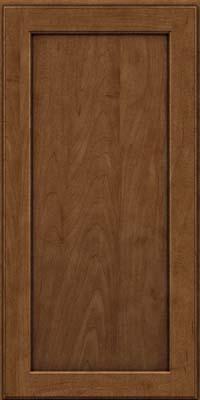 Square Recessed Panel - Veneer (AC9M) Maple in Rye w/Onyx Glaze - Wall