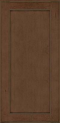 Square Recessed Panel - Veneer (AC9M) Maple in Saddle Suede - Wall