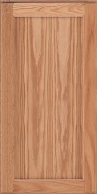 Square Recessed Panel - Veneer (AC9O) Oak in Natural - Wall