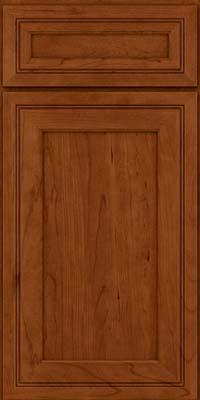 Square Recessed Panel - Veneer (ASCD) Cherry in Cinnamon - Base