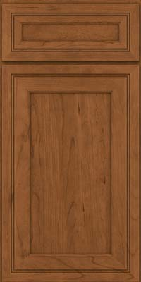 Square Recessed Panel - Veneer (ASCD) Cherry in Rye - Base
