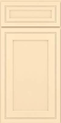 Square Recessed Panel - Veneer (ASMD) Maple in Biscotti w/Coconut Glaze - Base