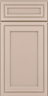 Square Recessed Panel - Veneer (ASMD1) Maple in Chai - Base