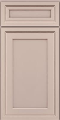 Square Recessed Panel - Veneer (ASMD1) Maple in Chai w/Cocoa Glaze - Base