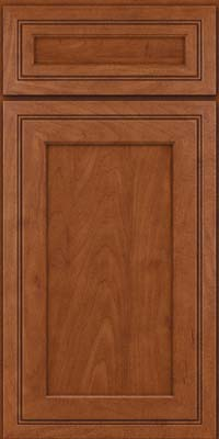 Square Recessed Panel - Veneer (ASMD) Maple in Chestnut - Base