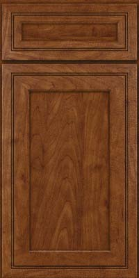 Square Recessed Panel - Veneer (ASMD) Maple in Cognac - Base