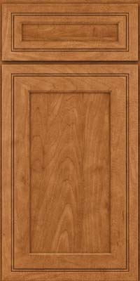 Square Recessed Panel - Veneer (ASMD) Maple in Praline - Base