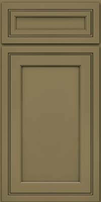 Square Recessed Panel - Veneer (ASMD) Maple in Sage - Base