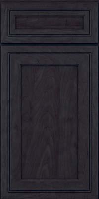 Square Recessed Panel - Veneer (ASMD) Maple in Slate - Base