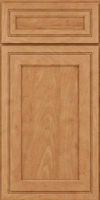 Square Recessed Panel - Veneer (ASMD) Maple in Toffee - Base