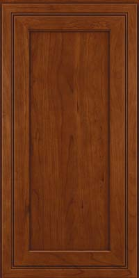 Square Recessed Panel - Veneer (ASCD) Cherry in Autumn Blush - Wall