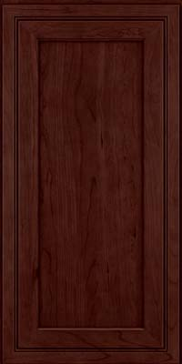 Square Recessed Panel - Veneer (ASCD) Cherry in Cabernet - Wall