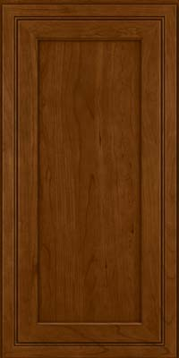 Square Recessed Panel - Veneer (ASCD) Cherry in Chocolate - Wall