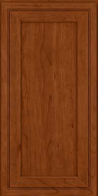 Square Recessed Panel - Veneer (ASCD) Cherry in Cinnamon - Wall