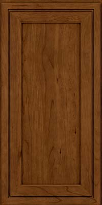 Square Recessed Panel - Veneer (ASCD) Cherry in Ginger w/Sable Glaze - Wall