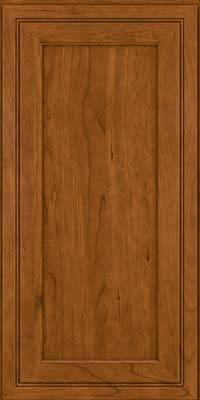 Square Recessed Panel - Veneer (ASCD) Cherry in Golden Lager - Wall