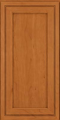 Square Recessed Panel - Veneer (ASCD) Cherry in Honey Spice - Wall