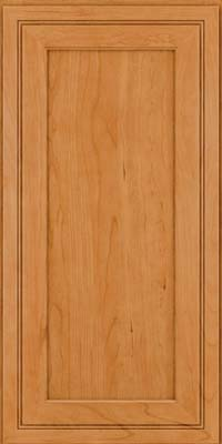 Square Recessed Panel - Veneer (ASCD) Cherry in Natural - Wall