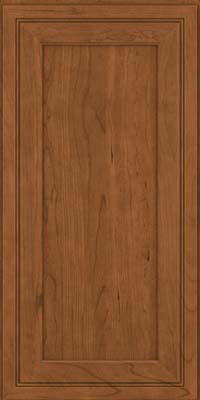 Square Recessed Panel - Veneer (ASCD) Cherry in Rye - Wall