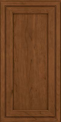 Square Recessed Panel - Veneer (ASCD) Cherry in Rye w/Sable Glaze - Wall