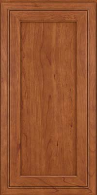 Square Recessed Panel - Veneer (ASCD) Cherry in Sunset - Wall