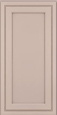 Square Recessed Panel - Veneer (ASMD1) Maple in Chai w/Cocoa Glaze - Wall