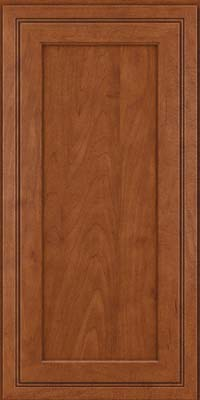 Square Recessed Panel - Veneer (ASMD) Maple in Chestnut - Wall