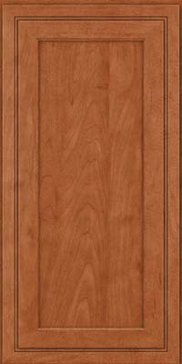 Square Recessed Panel - Veneer (ASMD) Maple in Cinnamon - Wall