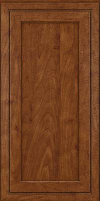 Square Recessed Panel - Veneer (ASMD) Maple in Cognac - Wall