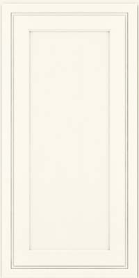 Ashbury Miter (ASM1) Maple in Dove White - Wall