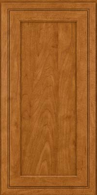 Square Recessed Panel - Veneer (ASMD) Maple in Golden Lager - Wall