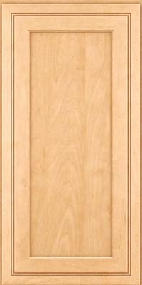 Square Recessed Panel - Veneer (ASMD) Maple in Honey Spice - Wall