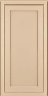 Square Recessed Panel - Veneer (ASMD) Maple in Mushroom - Wall