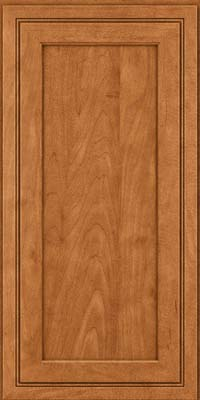 Square Recessed Panel - Veneer (ASMD) Maple in Praline w/Mocha Highlight - Wall
