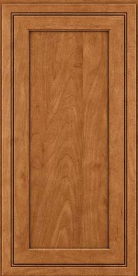 Square Recessed Panel - Veneer (ASMD) Maple in Praline w/Onyx Glaze - Wall