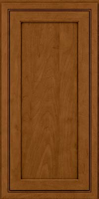 Square Recessed Panel - Veneer (ASMD) Maple in Rye w/Sable Glaze - Wall