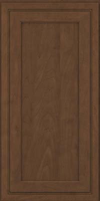 Square Recessed Panel - Veneer (ASM) Maple in Saddle Suede - Wall