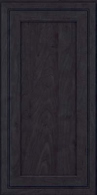 Square Recessed Panel - Veneer (ASMD) Maple in Slate - Wall