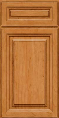 Square Raised Panel - Solid (BF) Cherry in Natural - Base